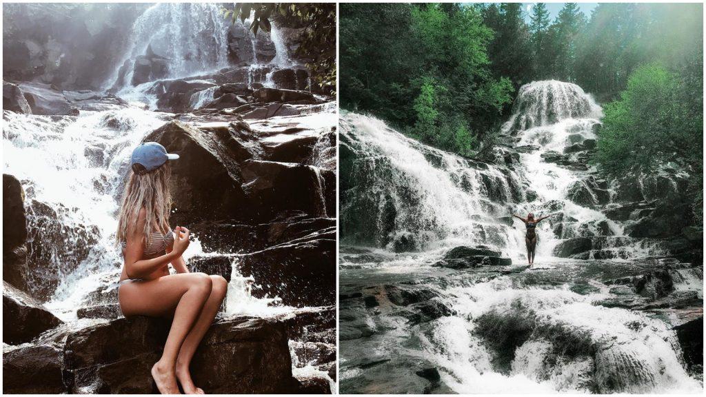 Chutes Waber : magnifiques chutes parc régional de la Mauricie